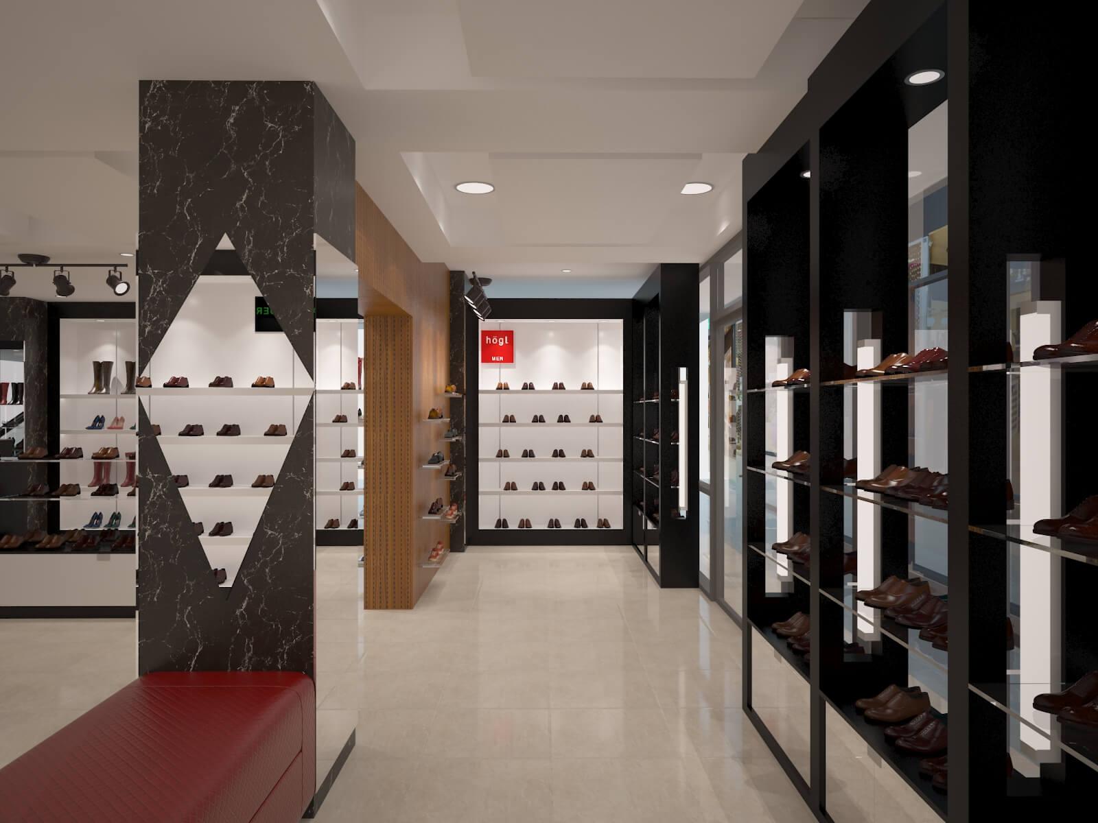shoes store design