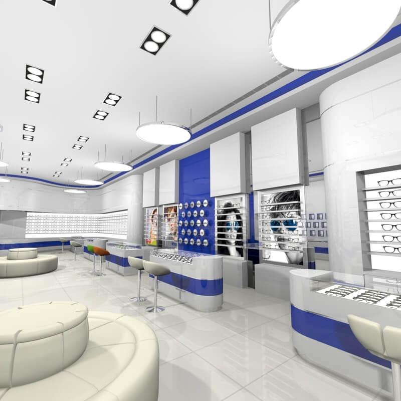 sunglasses store furniture