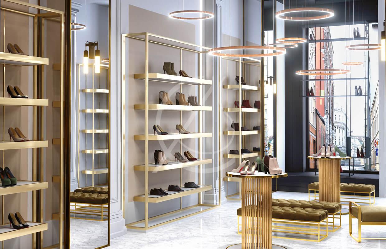 shoe store design