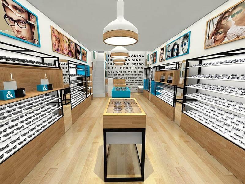 eye glasses shops displays