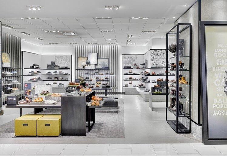 shoe shop design