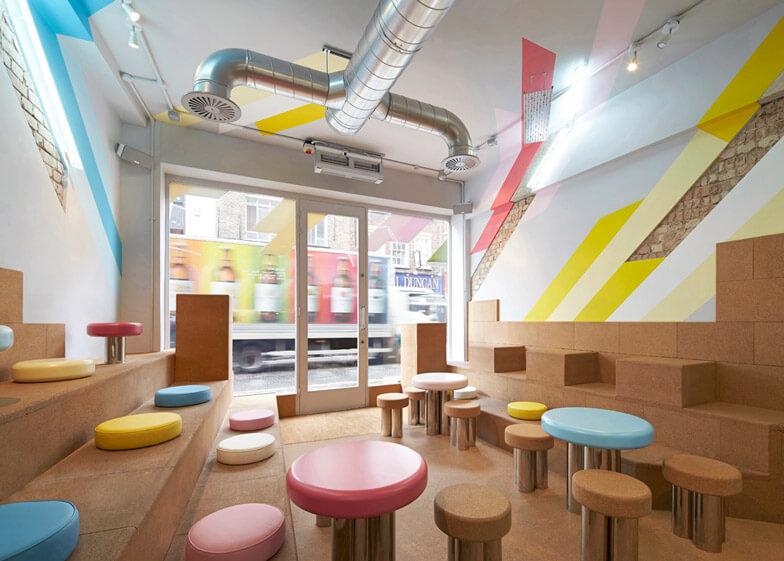 bubble tea shop interior design