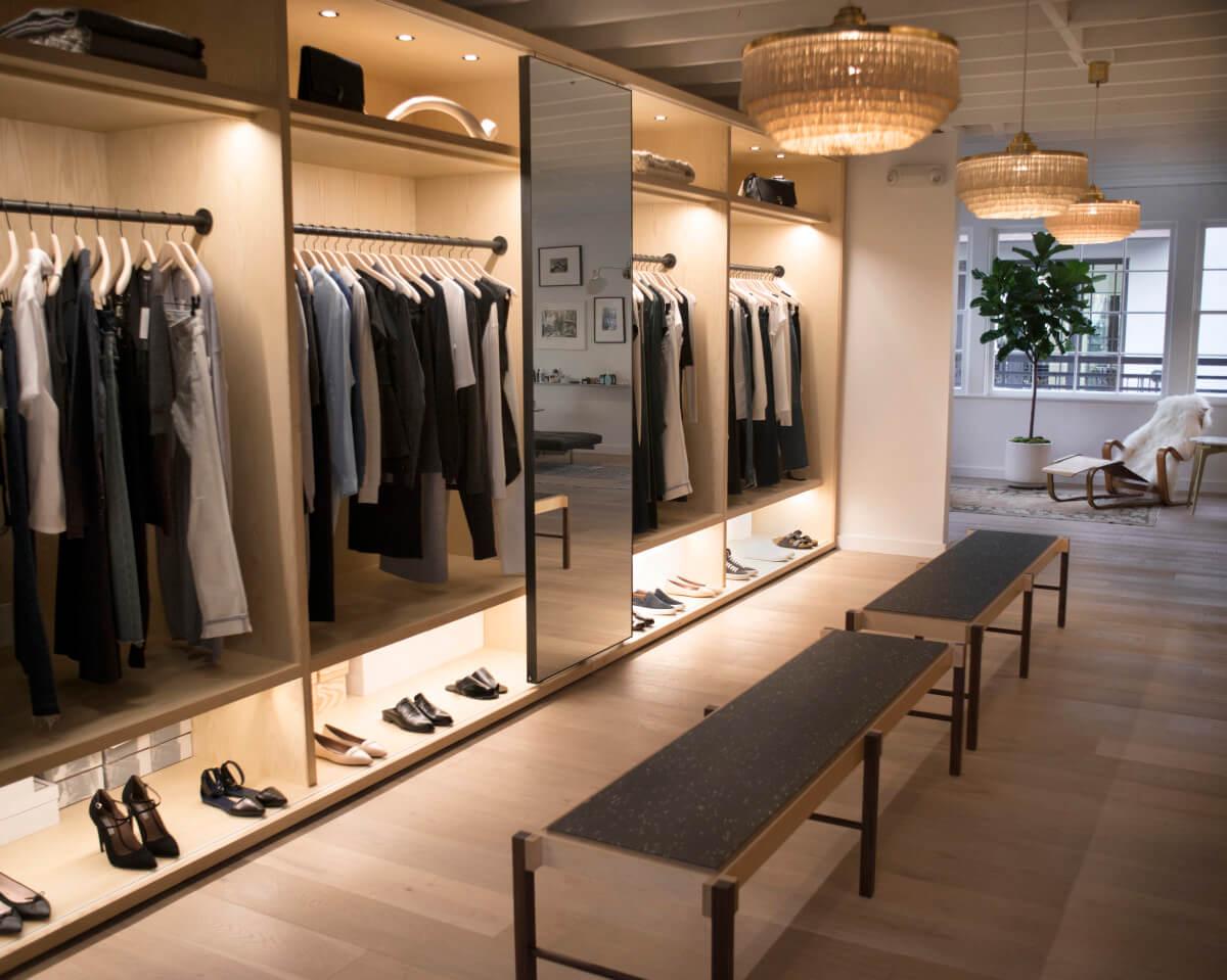 clothing shop furniture
