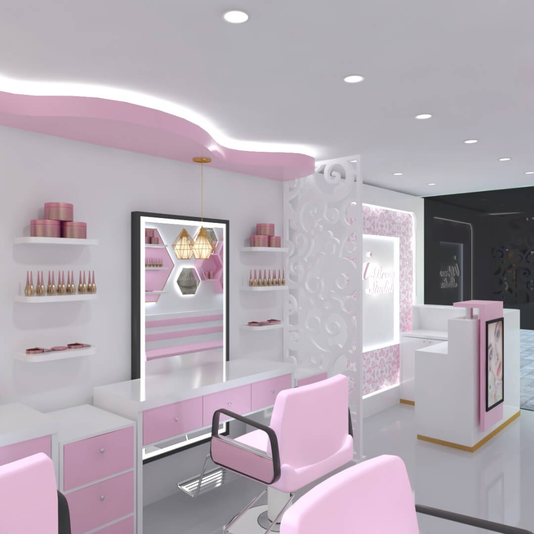 beauty shop design