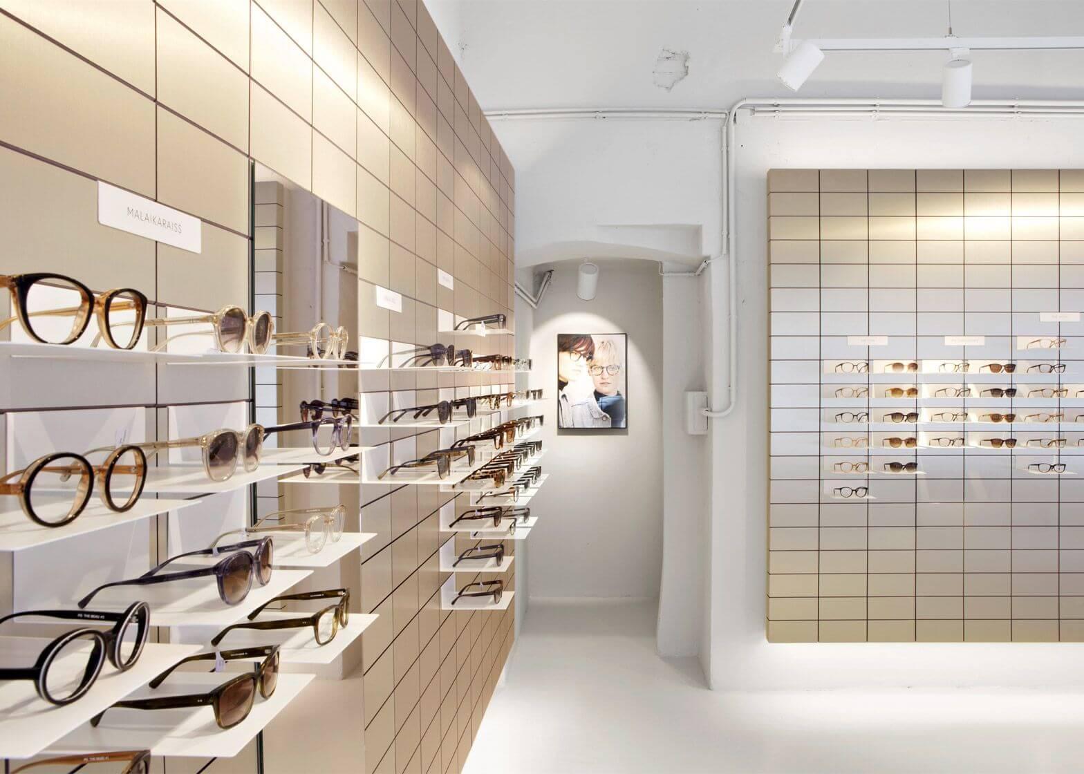 eyewear shop design