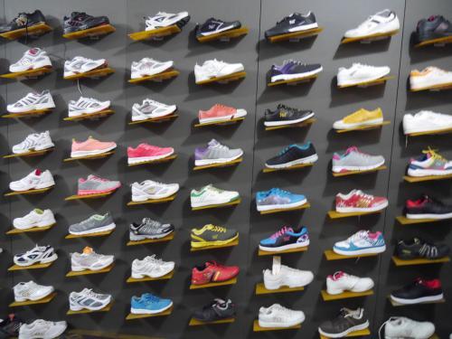 shoes displays