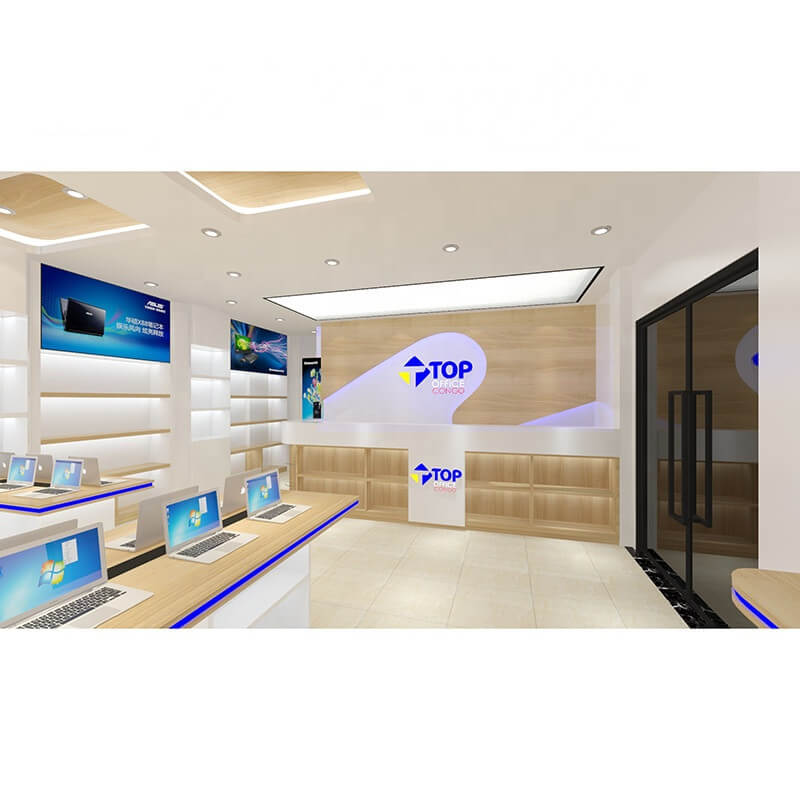 Computer Store for Display Fixture & Phone Store Design Display Counter for Sale