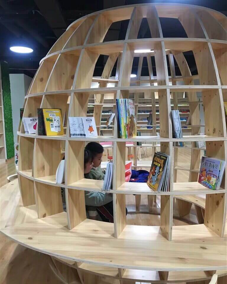 book shop in mall