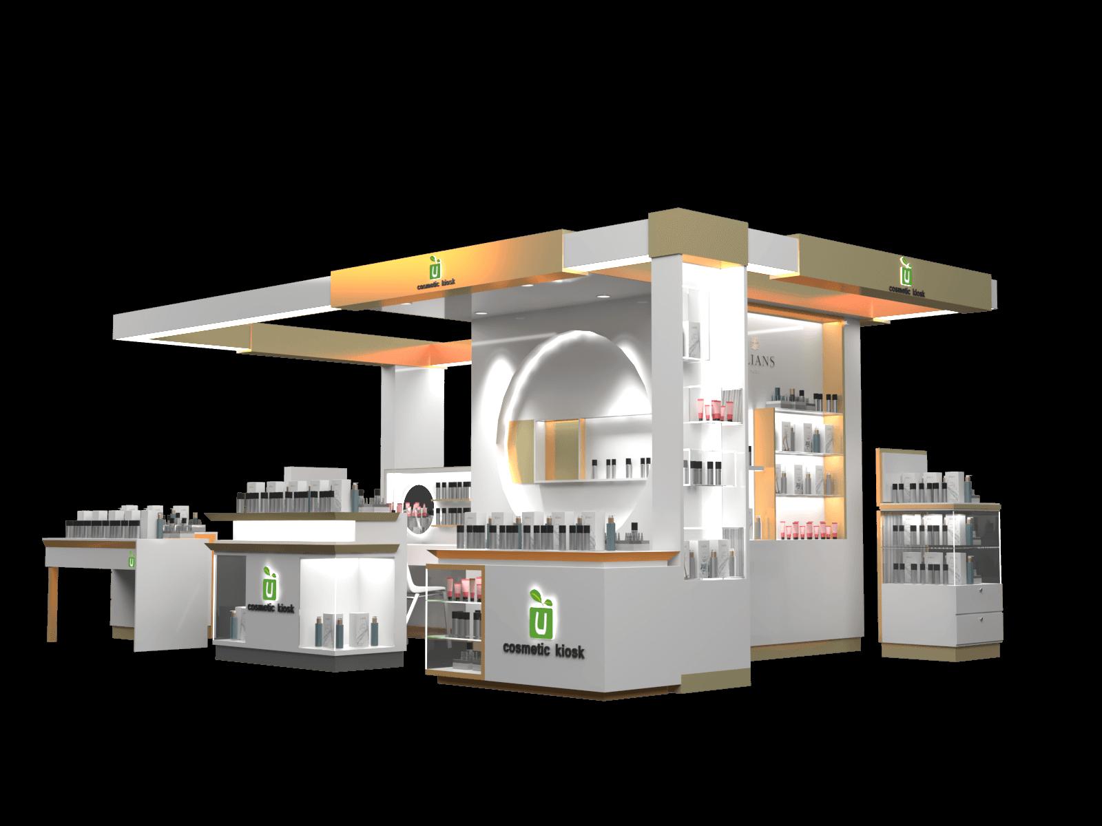 cosmetic kiosk