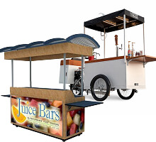 mobile juice carts