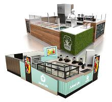 juice kiosk design