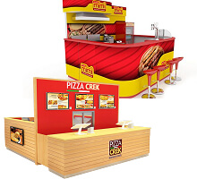 pizza kiosks
