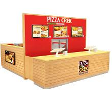 pizza kiosk indoor