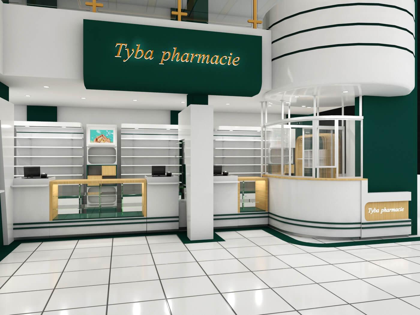 pharmacy furniture design