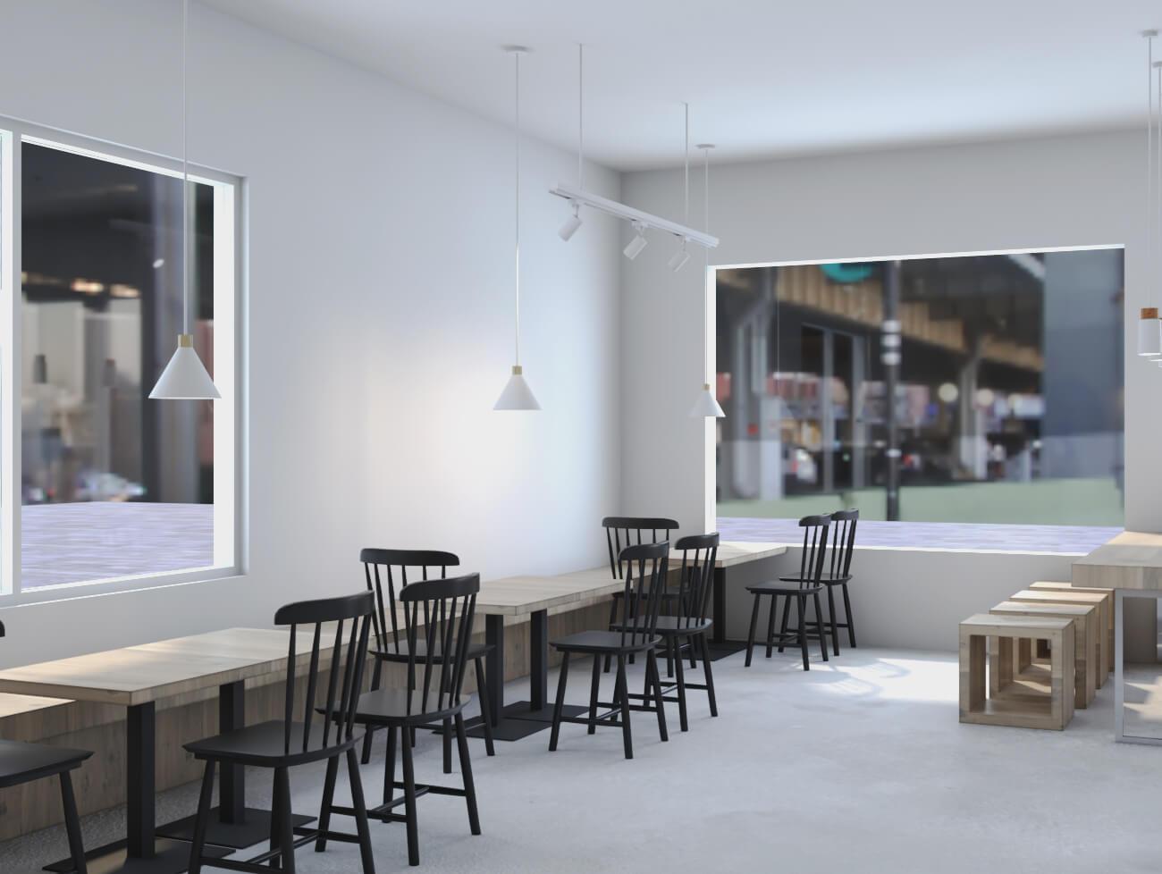 Food store design