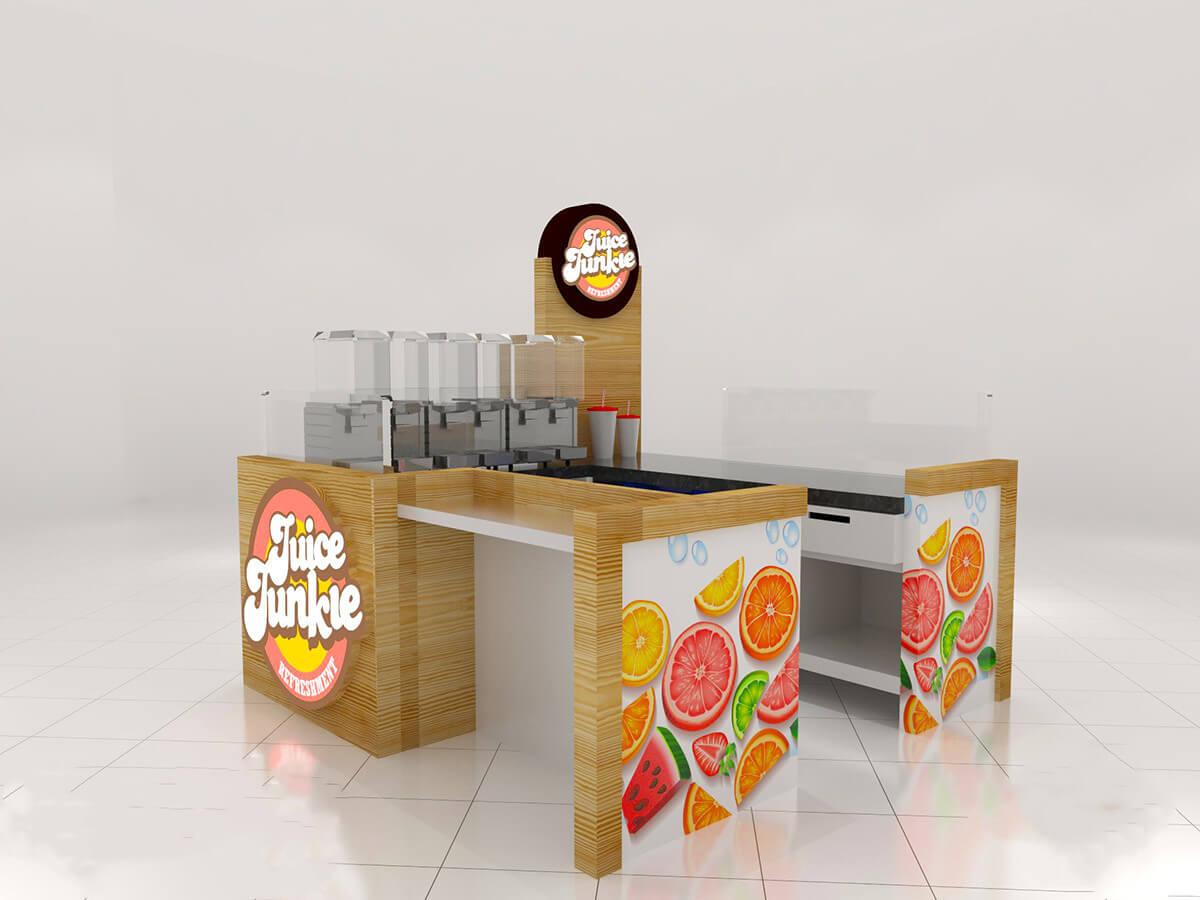 Juice kiosk for sale