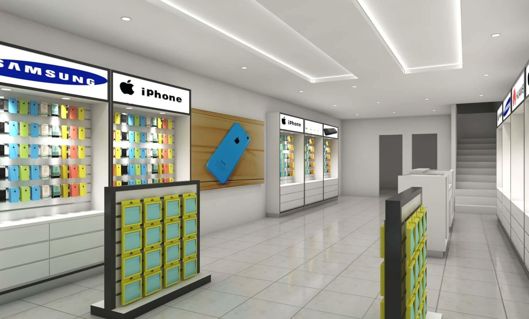 Phone shop design