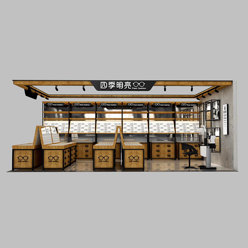 Optical store display furniture