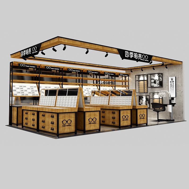 Optical shop layout