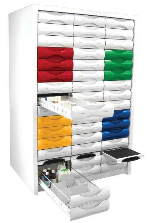 pharmacy drawer cabinet