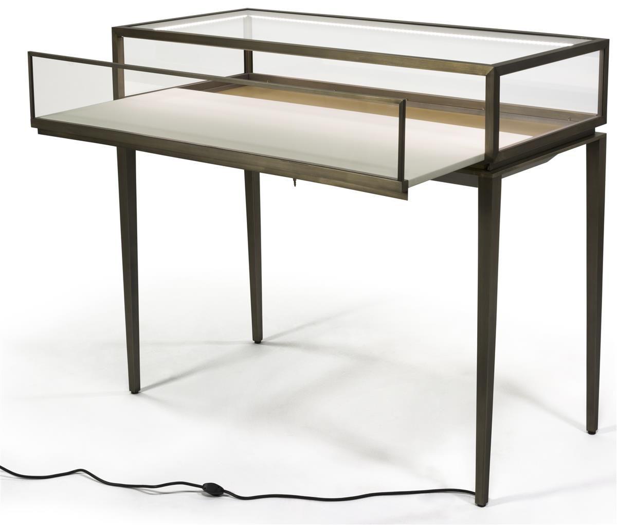 jewelry display table showcase
