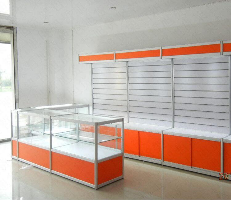 phone display cabinet