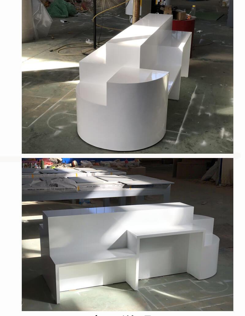 bag display counter