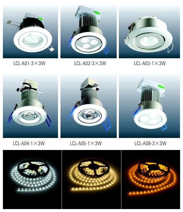acrylic cabinet lights