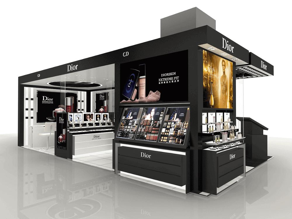 Cosmetic shop 3d design