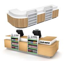 Pharmacy Cash wrap front desk