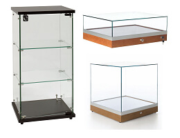 jewelry countertop display case
