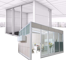 Pharmacy Demountable Wall & Partitions