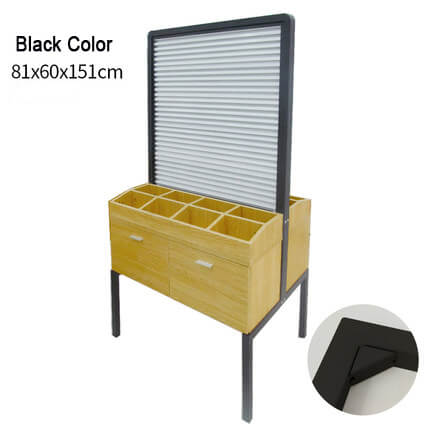 wood display stand