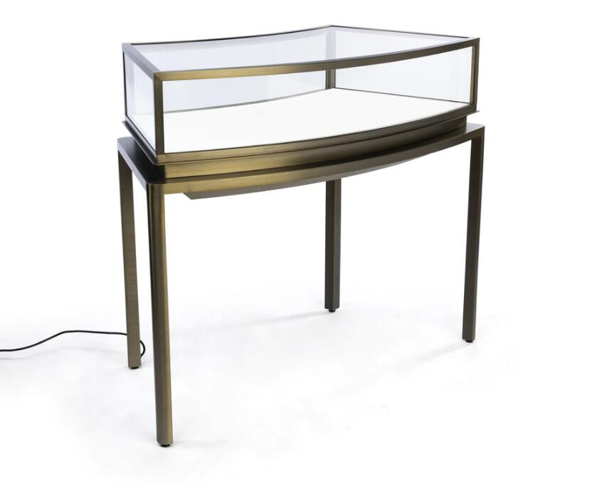 stainless steel jewelry display cases