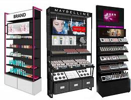Makeup Display Rack & shelves