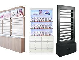 nail polish display cabinet