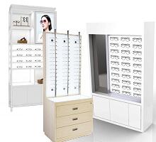 eyeglass display cabinet