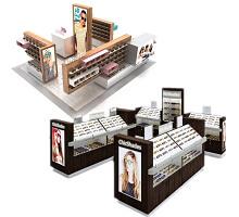 Sunglass Kiosk in Mall