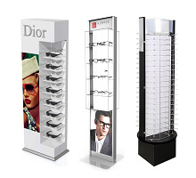 optical display stands