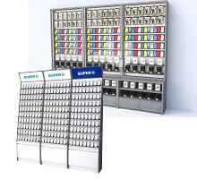 mobile phone accessories cabinet
