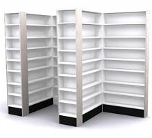 pharmacy shelving units