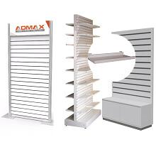 RX slatwall display racks