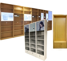 mobile store display cabinet