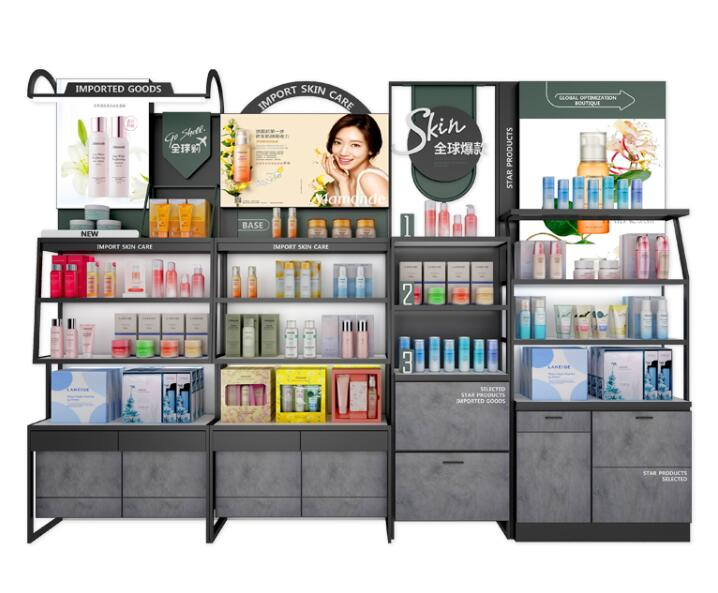cosmetic store display
