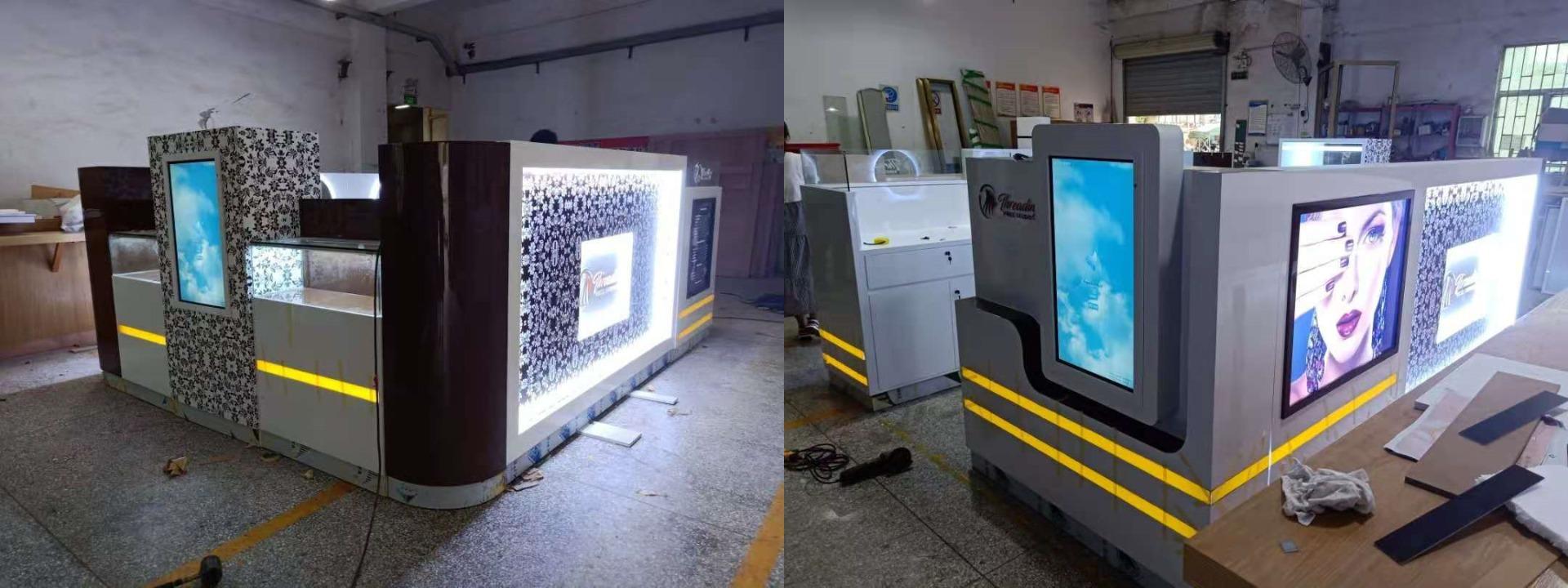 beauty kiosk