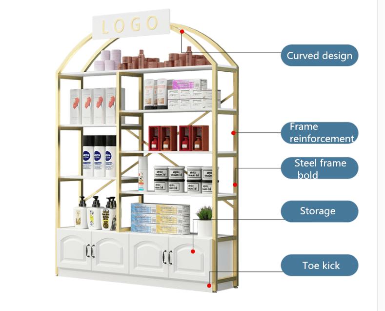 cosmetic shelf