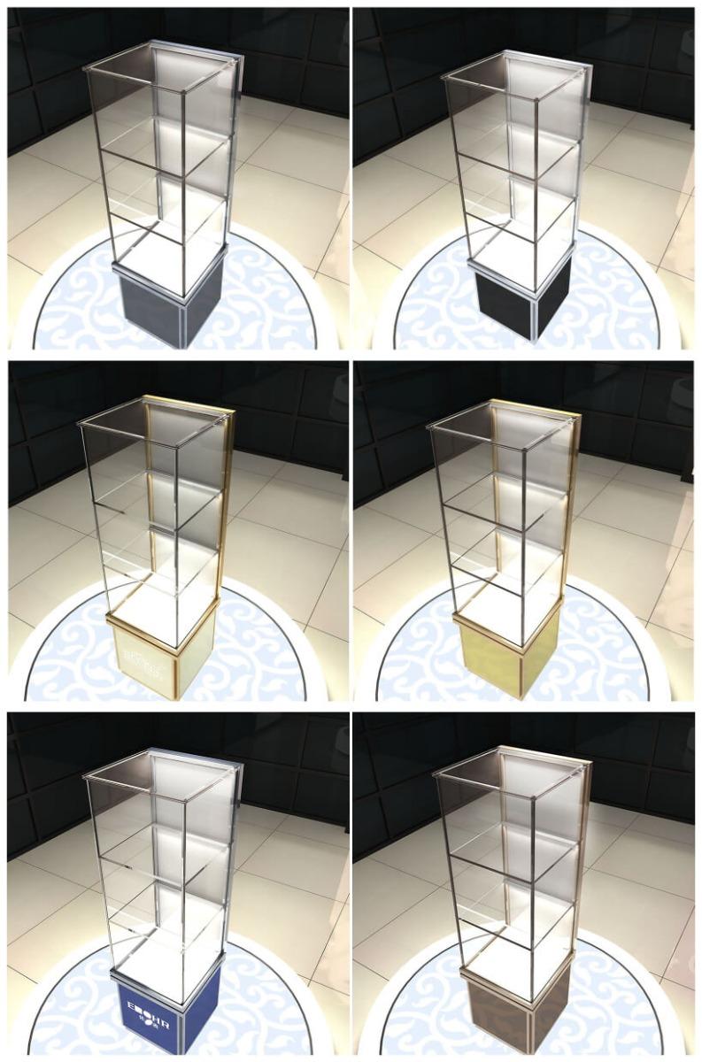 glass case