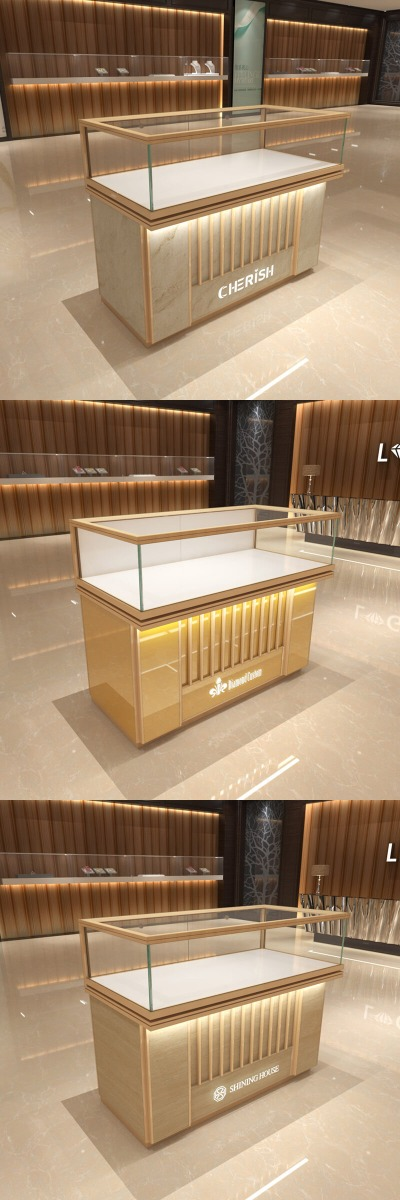 high-end jewelry counter