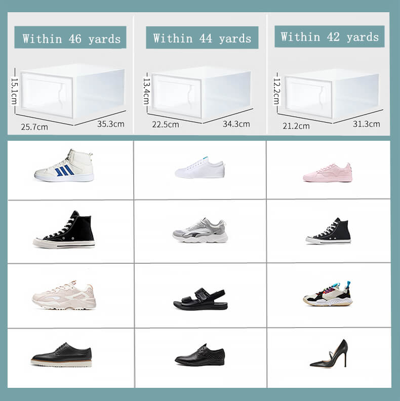 high quality shoe box