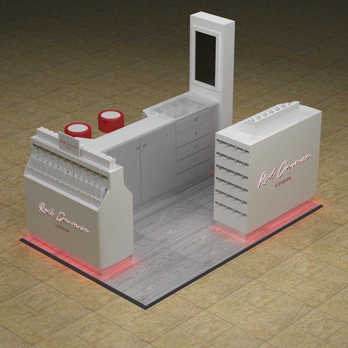 nail display kiosk